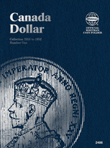 Whitman Folder - Canadian Dollar 1935-1952 Vol.1