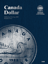 Whitman Folder - Canadian Dollar 1987-2008 Vol.4