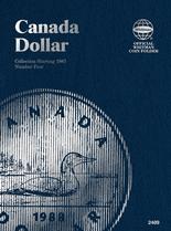 Whitman Folder - Canadian Dollar 1987-2008 Vol.4