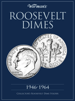 Warmans Folder: Roosevelt Dimes 1946-1964