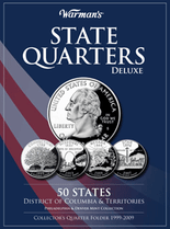 Warmans Folder: State Quarters Deluxe 1999-2009