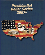 Supersafe Album Presidential Dollar Series 1-MM 2007-