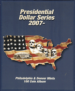 Supersafe Album Presidential Dollar Series P&D 2007-