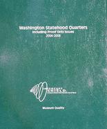 Intercept Shield Washington Statehood Quarters with proof 2004-2008
