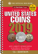 2019 Red Book Price Guide of United States Coins-Spiral
