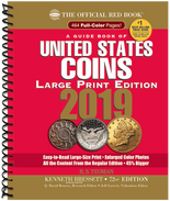 2019 Red Book Price Guide of United States Coins -Large Print-Spiral