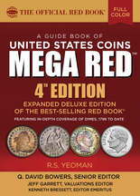 2019 Red Book Mega, A Guide Book of United States Coins Deluxe 4th Edition