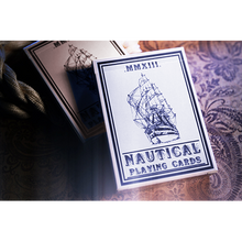 Blue Nautical Playing Cards by The Blue Crown