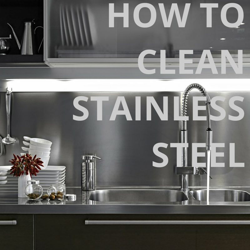 how to keep stainless steel appliances clean