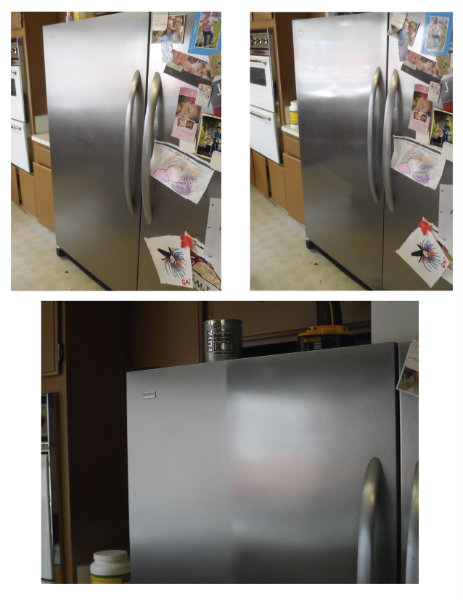 Stainless Steel Refrigerator Chris
