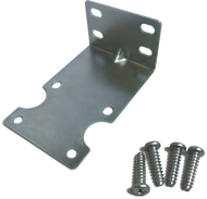 "4.5"" Bracket, Mounting, Zinc Plated w/screws"