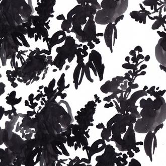 """""""Brushed Floral No.1"""" Patterned Paper, 10 pack"""