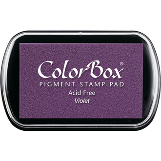 Color Box Stamp Pad, Pigment Ink, Violet