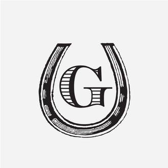 """Horseshoe"" Initial Monogram Stamp"