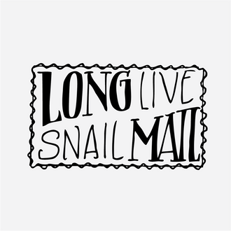 """Snail Mail"" Envelope Stamp"