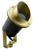 Composite Spotlight PSC3A (shown with raw brass angled shield)