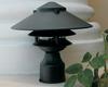 3 Tier Pagoda Post Light PPC351 (in scene, black)