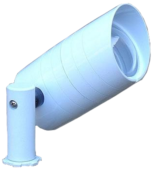 Aluminum Side Arm Spotlight PSDX687 (shown in white)