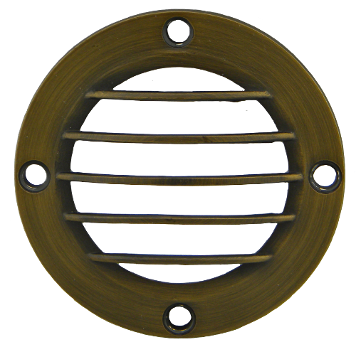 "3.5"" Bronze Grill Cover"