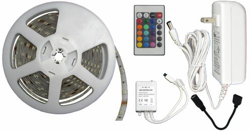 Rgb Led Tape Standard Tape Light 12v Amp 16ft Smd5050 30