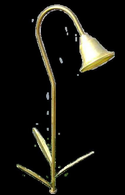Brass Bell Shade Pathway Light PP3L-3LB