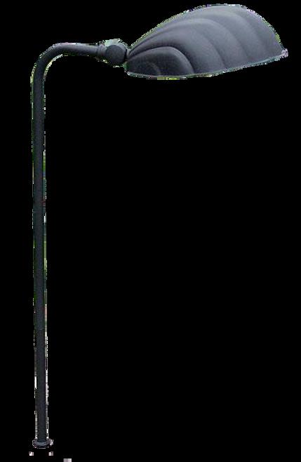 Clamshell Garden Pathway Light PP612 (shown in black)
