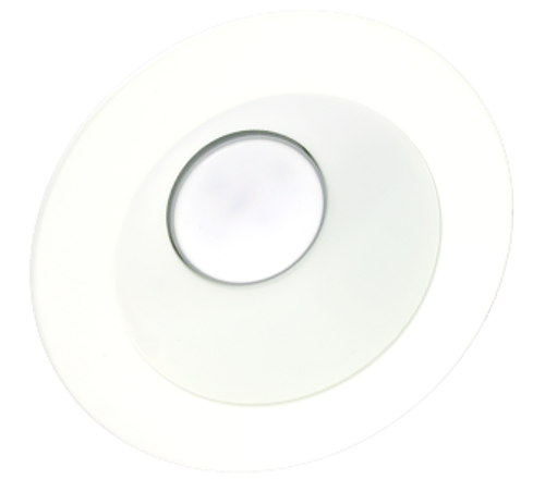 "White 4"" Trim Ring w/ Reflector - X45 Series"