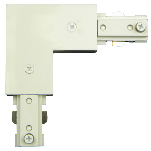 120v L Connector with Power Entry TA-106 White