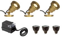 LED Underwater 3 Spotlight Kit (kit includes)