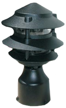 3 Tier Pagoda Post Light PPC350 (shown in black)