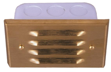 Stamped Step Light with Louvers SL-02