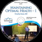 Maintaining Optimal Health - 1