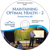 Maintaining Optimal Health - 2 [DOWNLOAD]
