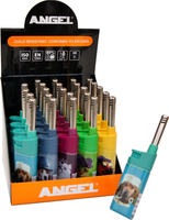 ANGEL PETS COLOURED ELECTRONIC MINI CANDLE LIGHTERS