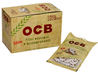 OCB Biodegradable Filter Tips (6mm. SLIM)