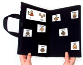 Portable BiFold Communication Choice Folders