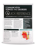 Quick Reference in Communication Disorders