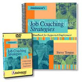 Job Coaching Strategies Book & DVD