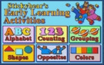 Stickybear's Early Learning Activities
