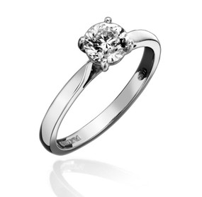 Solitaire Brilliant cut Diamond Ring (Price £8250.00)