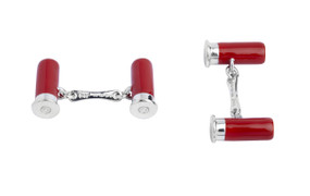 Cartridge Cufflinks by Deakin and Francis