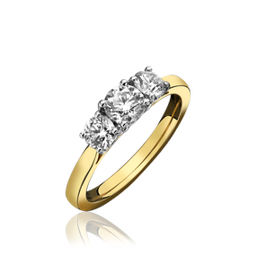 Diamond Three Stone Ring (£1550.00)