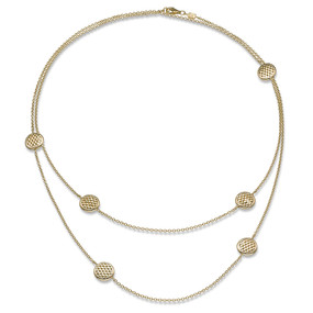Fope Lovely Daisy Chain Necklet