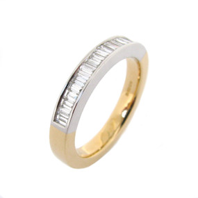 Baguette Cut Diamond Eternity Ring (Prices from £1350.00)