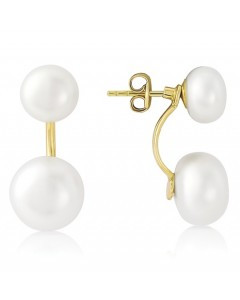 Freshwater Pearl Detachable Drop Earrings