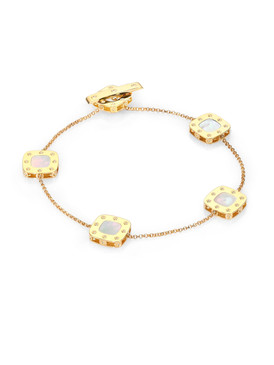 Roberto Coin 'Pois Moi' 18ct Gold & Mother of Pearl Bracelet (£1150.00)