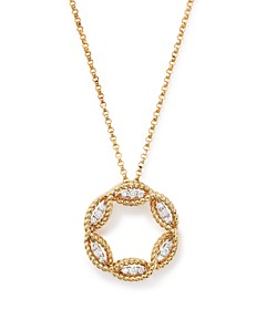Roberto Coin New 'Barocco' Diamond Pendant