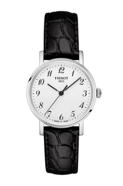 Tissot Everytime Small (Black/Silver)