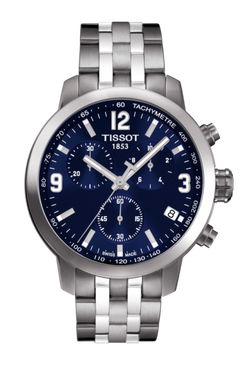 Tissot PRC 200 Chronograph (Steel/Blue)