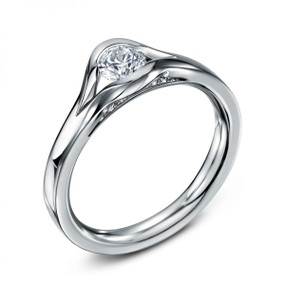 Andrew Geoghegan Platinum & Diamond Reveal Ring